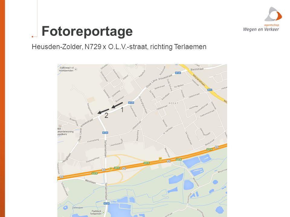 Fotoreportage Heusden-Zolder, N729 x O.L.V.-straat, richting Terlaemen