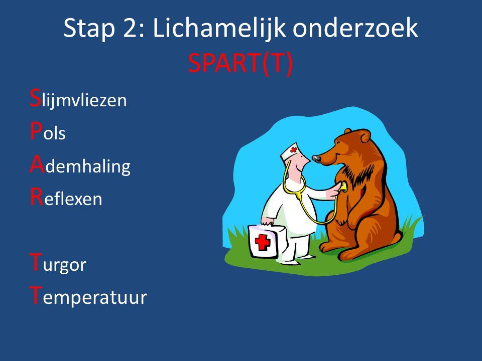 Stap 2: Lichamelijk onderzoek SPART(T)