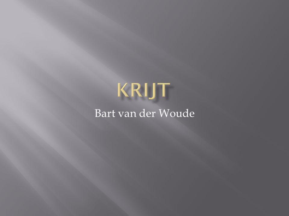 Krijt Bart van der Woude