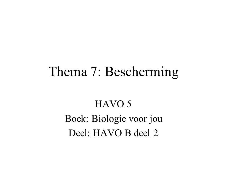 HAVO 5 Boek: Biologie voor jou Deel: HAVO B deel 2