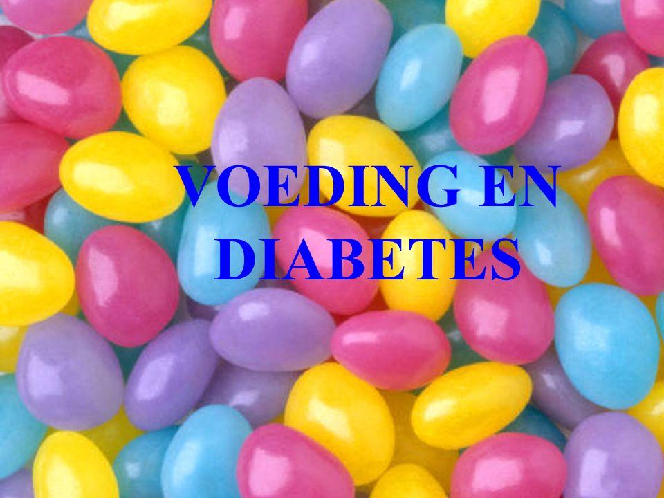 VOEDING EN DIABETES
