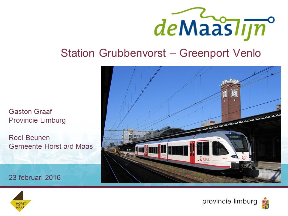 Station Grubbenvorst – Greenport Venlo