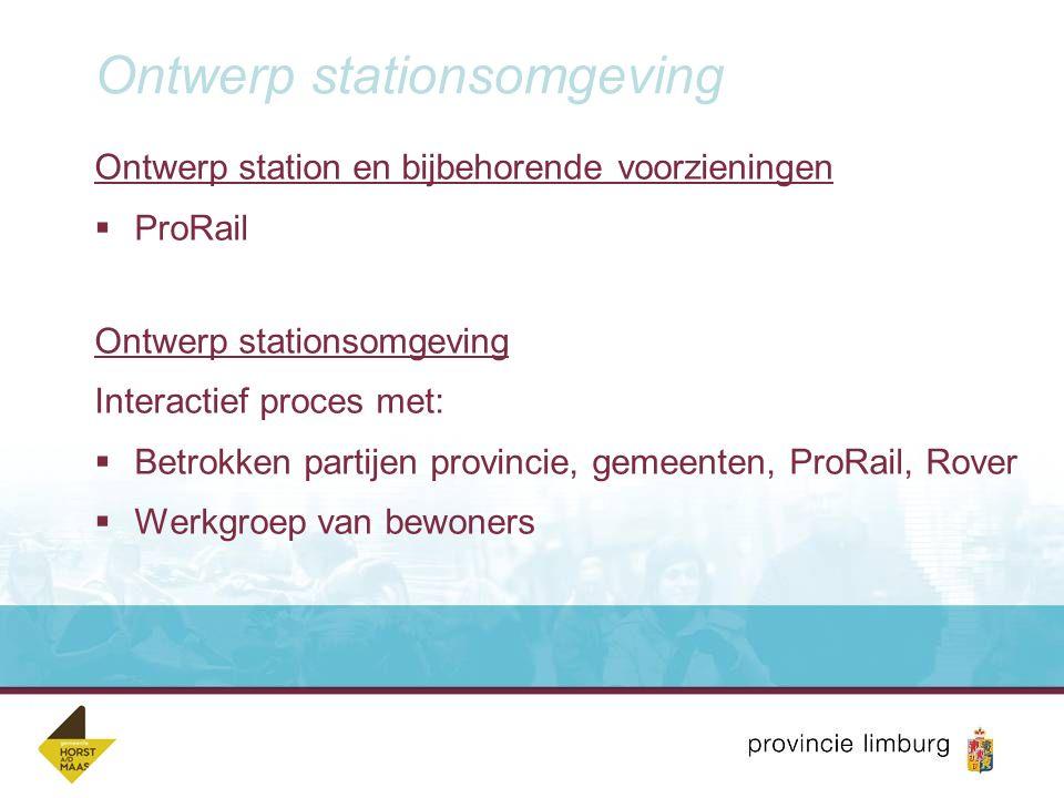 Ontwerp stationsomgeving