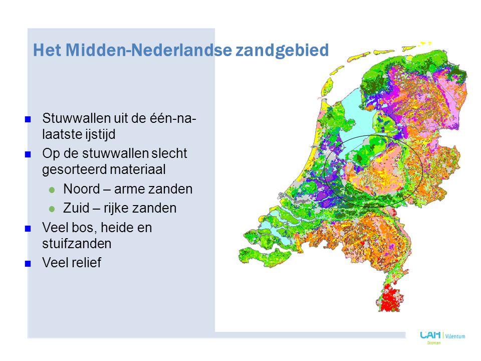Het Midden-Nederlandse zandgebied