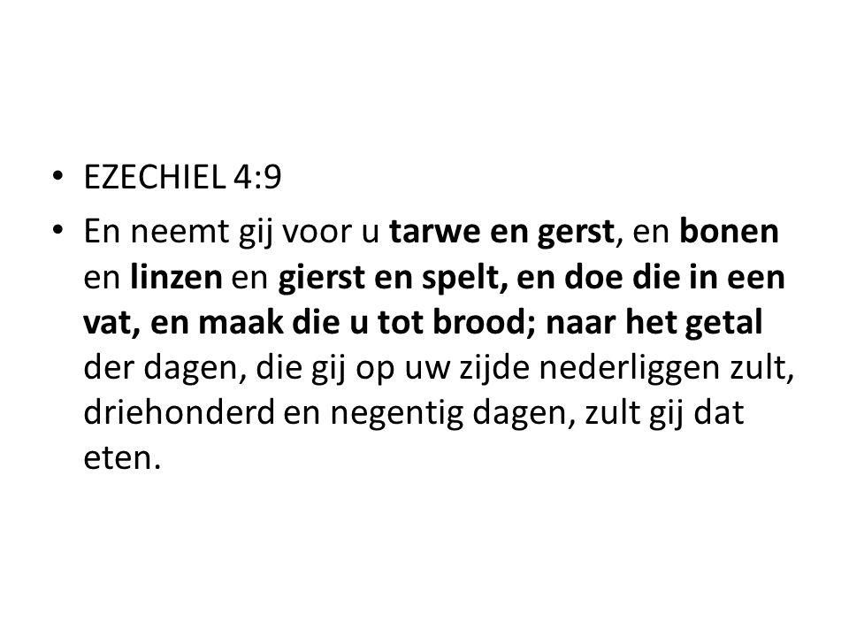 EZECHIEL 4:9