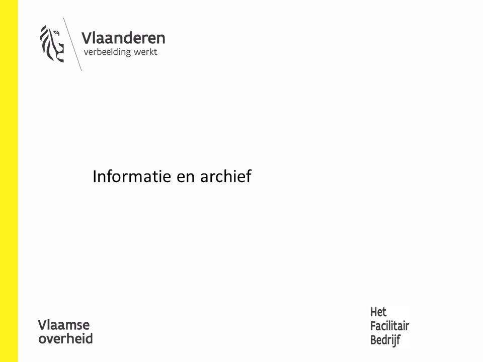 Informatie en archief