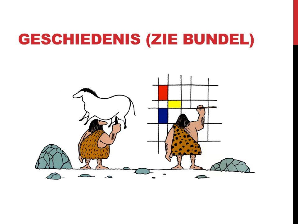 GESCHIEDENIS (zie bundel)