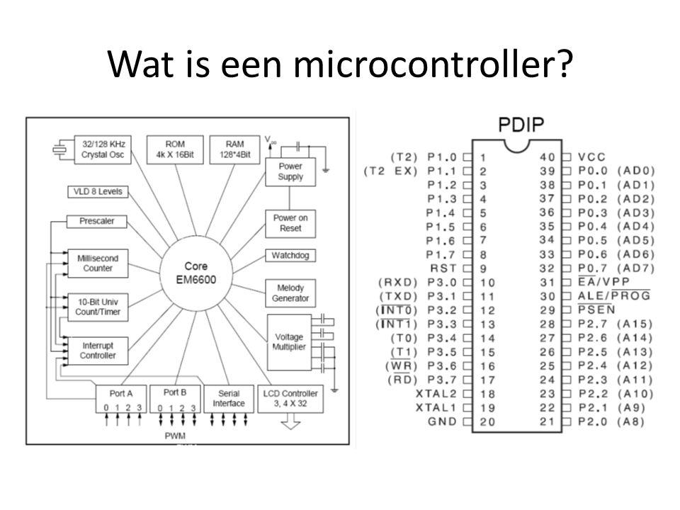 Wat is een microcontroller