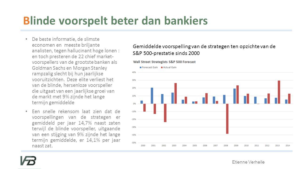 Blinde voorspelt beter dan bankiers