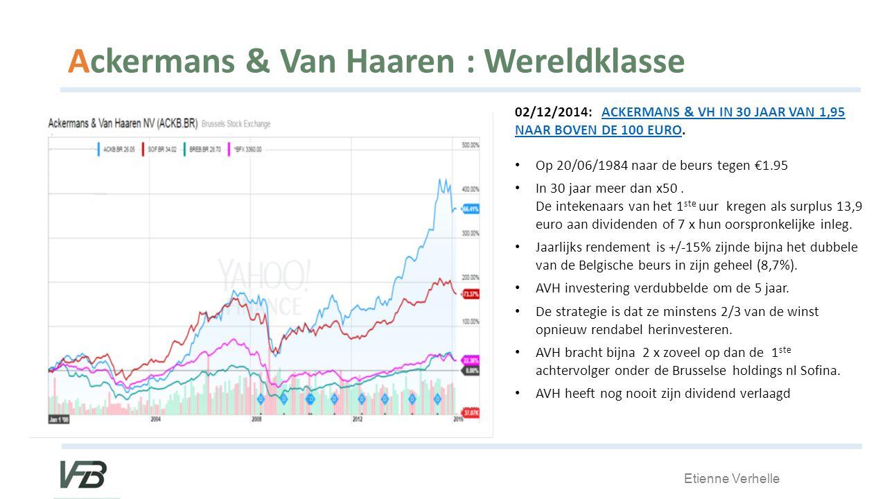 Ackermans & Van Haaren : Wereldklasse