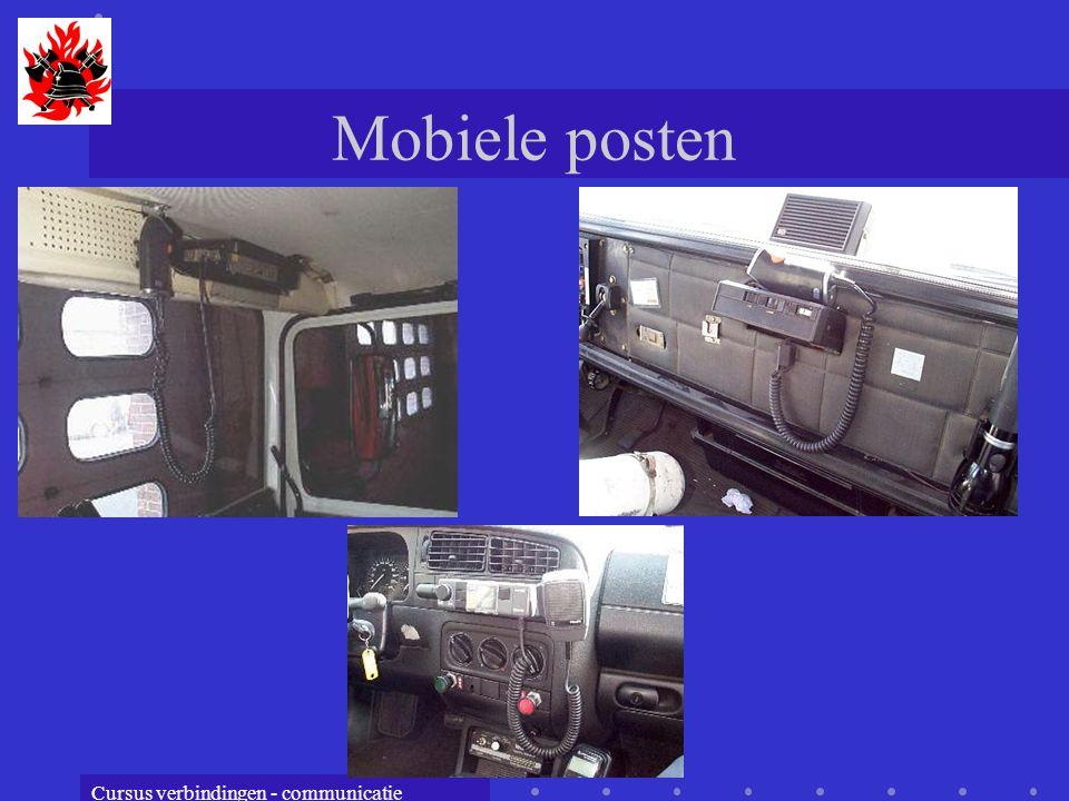 Mobiele posten