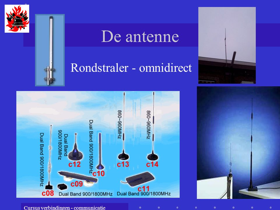 De antenne Rondstraler - omnidirect
