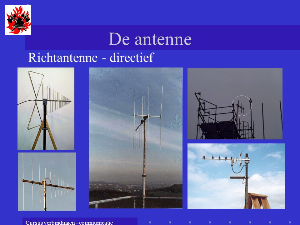 De antenne Richtantenne - directief