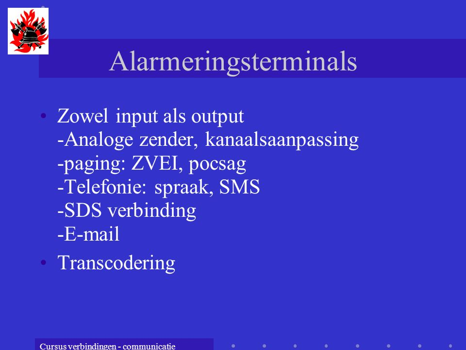 Alarmeringsterminals