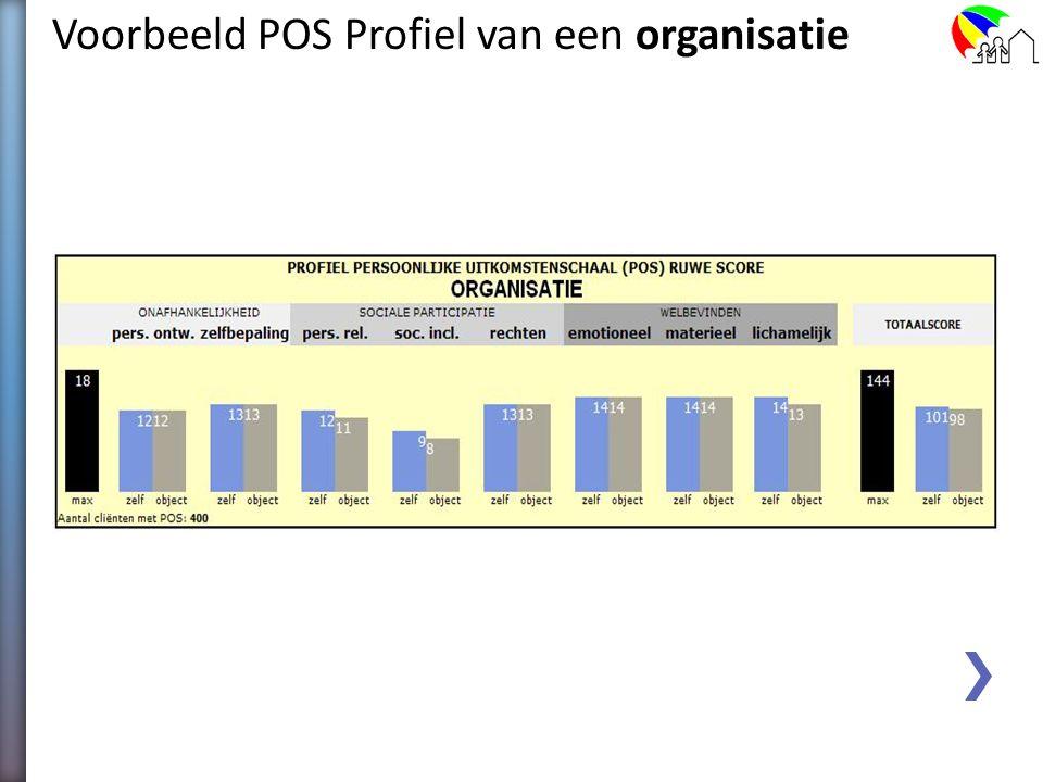 Voorbeeld POS Profiel van een organisatie