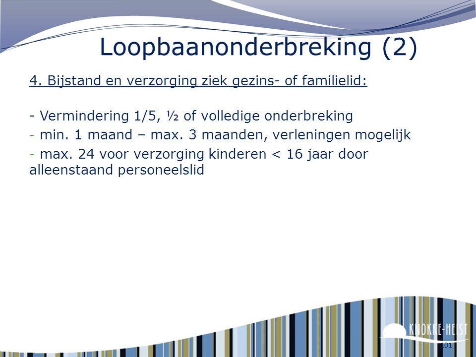 Loopbaanonderbreking (2)