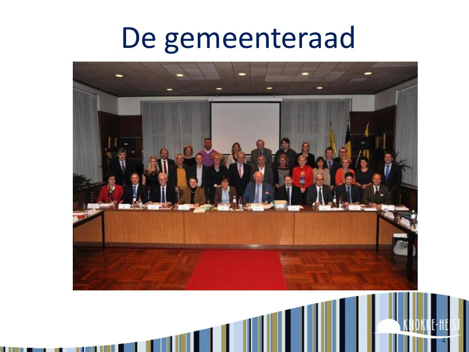 De gemeenteraad