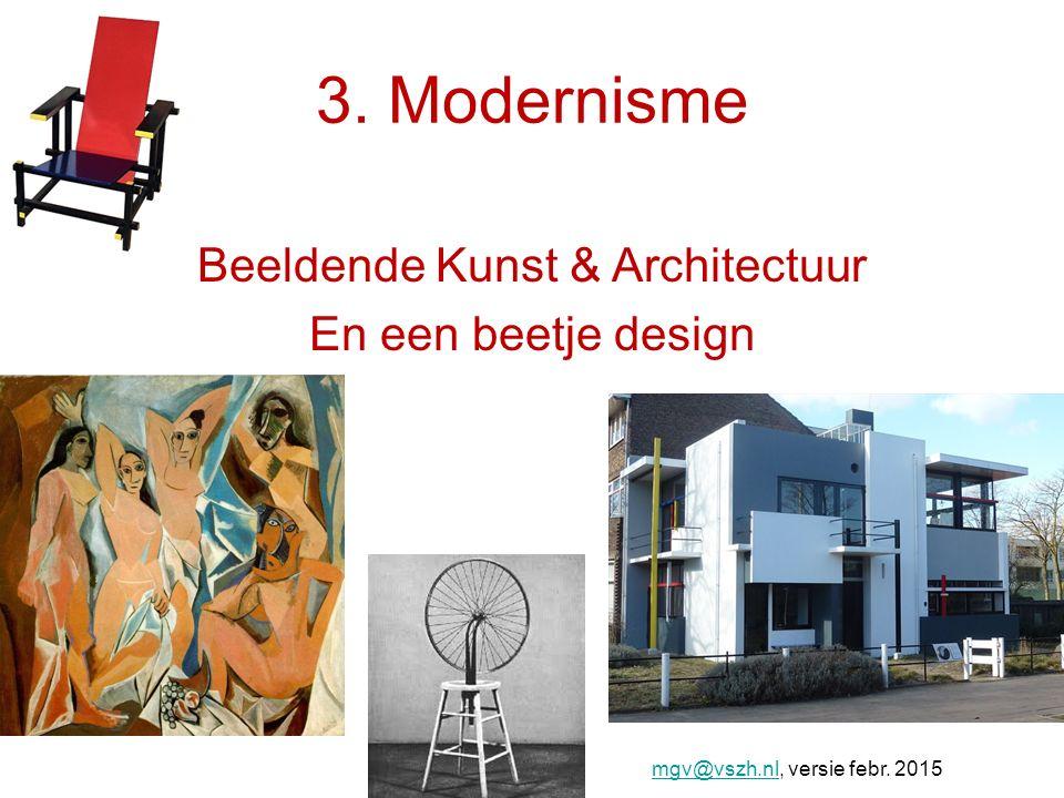 Beeldende Kunst & Architectuur En een beetje design
