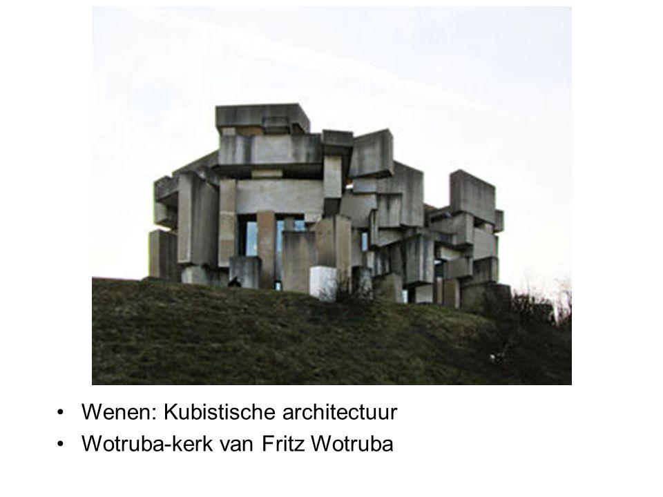 Wenen: Kubistische architectuur