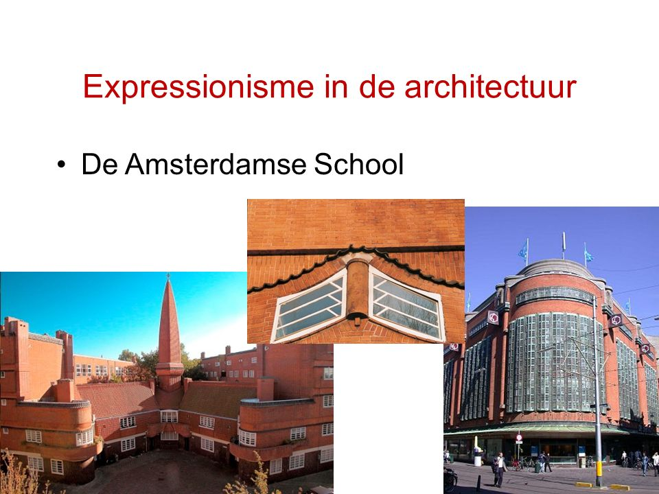 Expressionisme in de architectuur