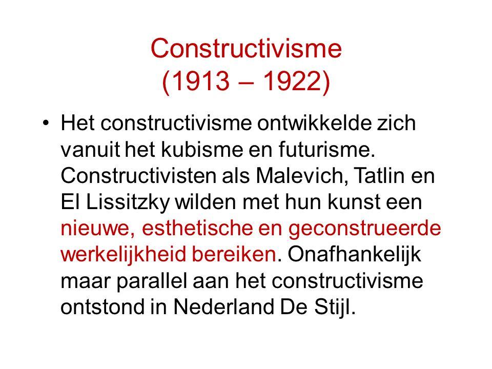 Constructivisme (1913 – 1922)