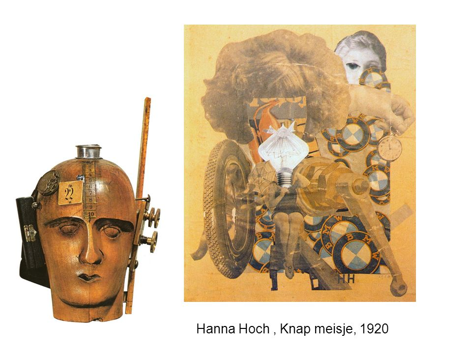Hanna Hoch , Knap meisje, 1920