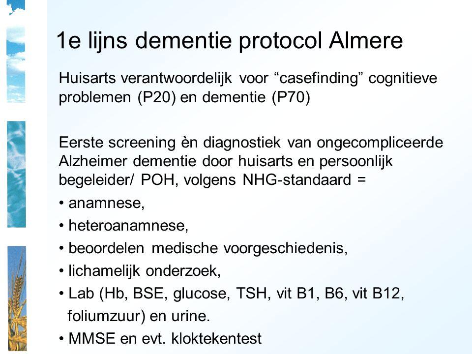 1e lijns dementie protocol Almere