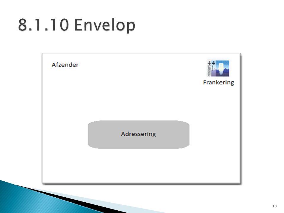 8.1.10 Envelop