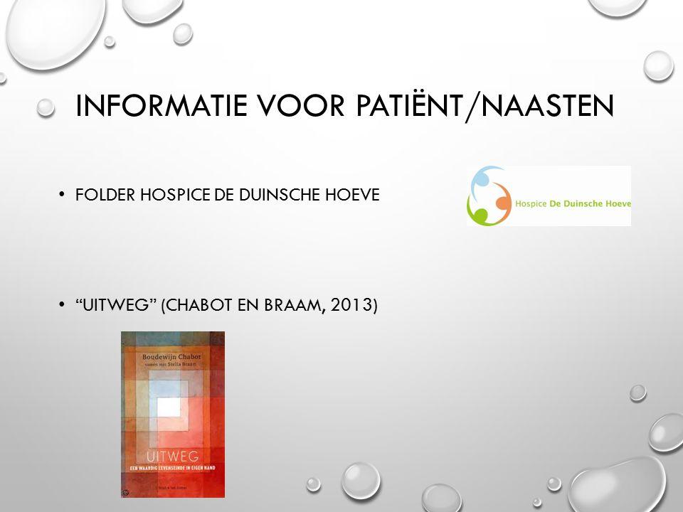 Informatie voor patiënt/naasten