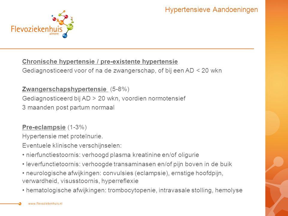 Hypertensieve Aandoeningen