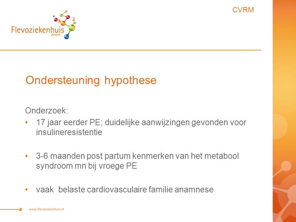 Ondersteuning hypothese