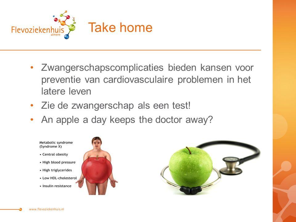 Take home Zwangerschapscomplicaties bieden kansen voor preventie van cardiovasculaire problemen in het latere leven.