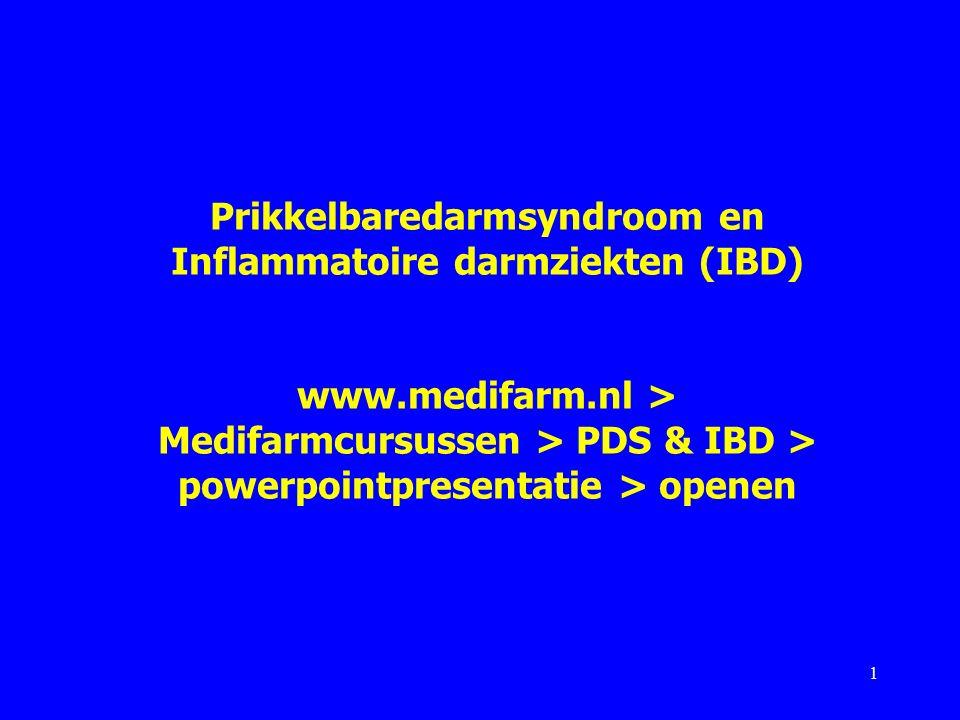 Prikkelbaredarmsyndroom en Inflammatoire darmziekten (IBD) www