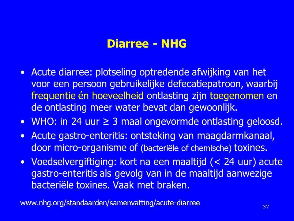 Diarree - NHG