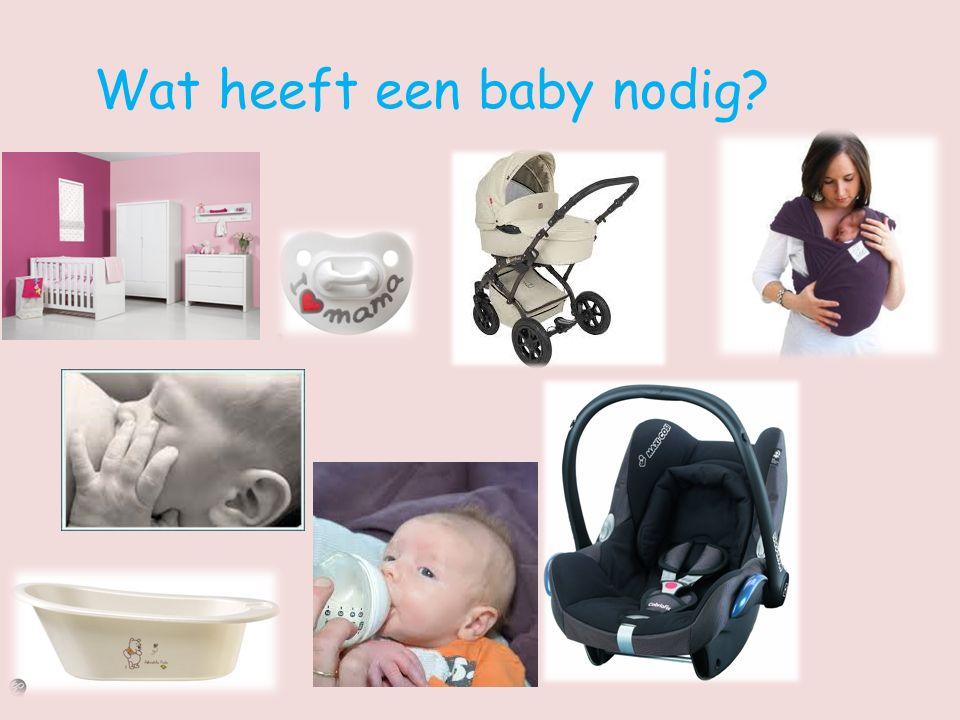 Wat heeft een baby nodig