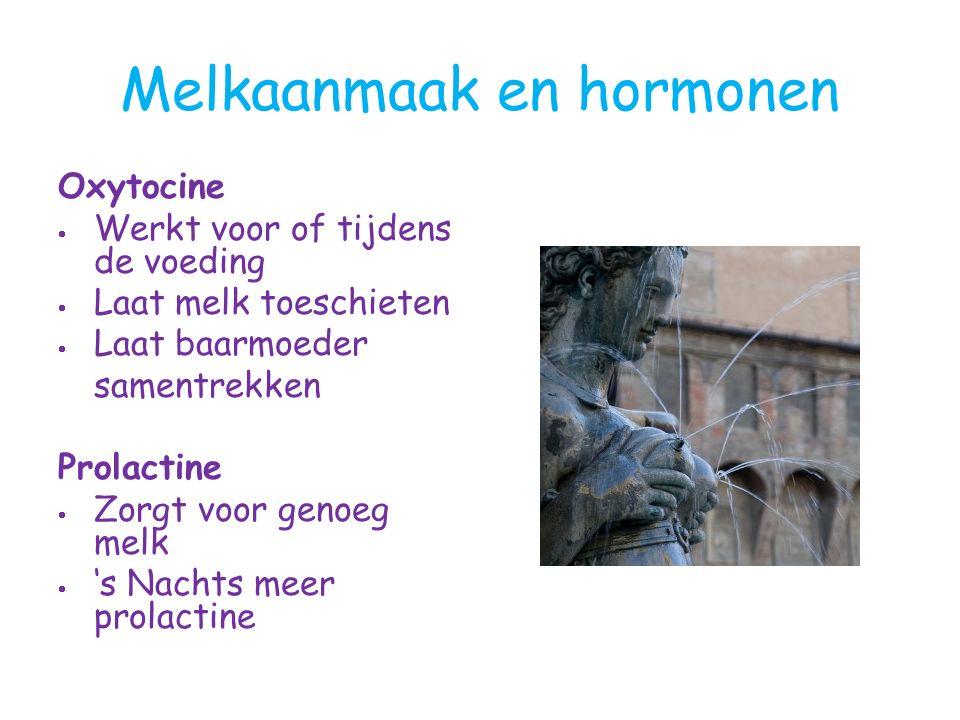 Melkaanmaak en hormonen