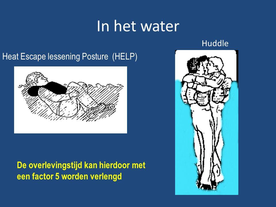 Heat Escape lessening Posture (HELP)
