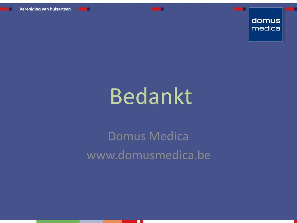Domus Medica www.domusmedica.be