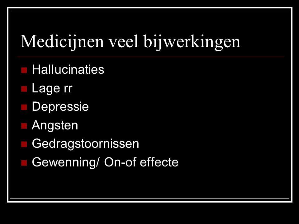 Medicijnen veel bijwerkingen