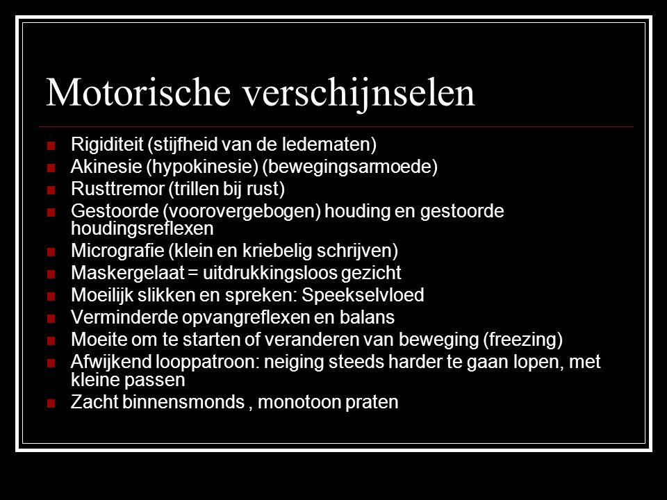Motorische verschijnselen