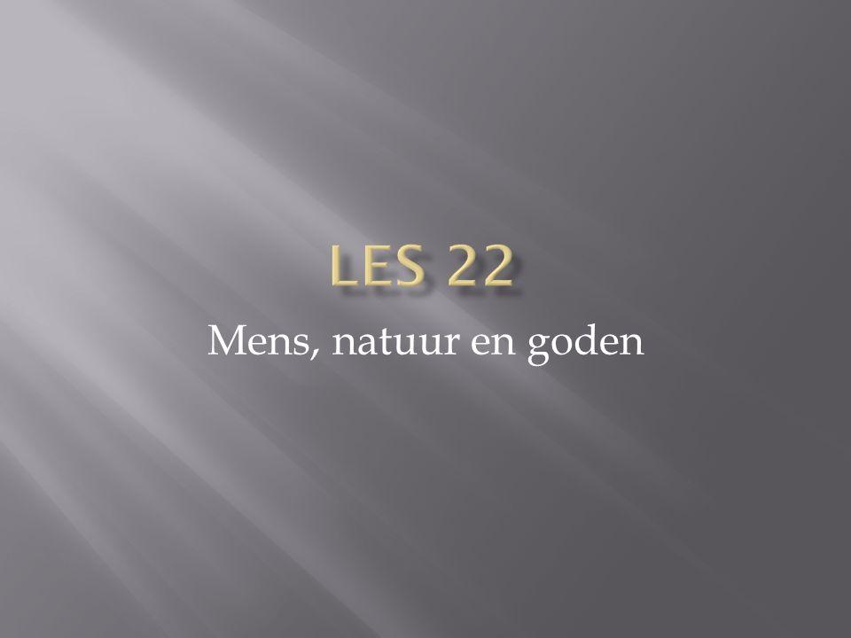 Les 22 Mens, natuur en goden