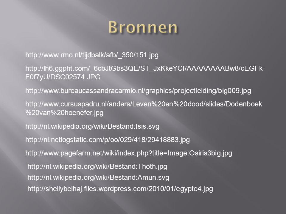 Bronnen http://www.rmo.nl/tijdbalk/afb/_350/151.jpg