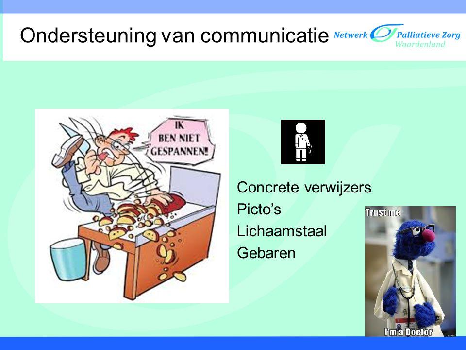 Ondersteuning van communicatie