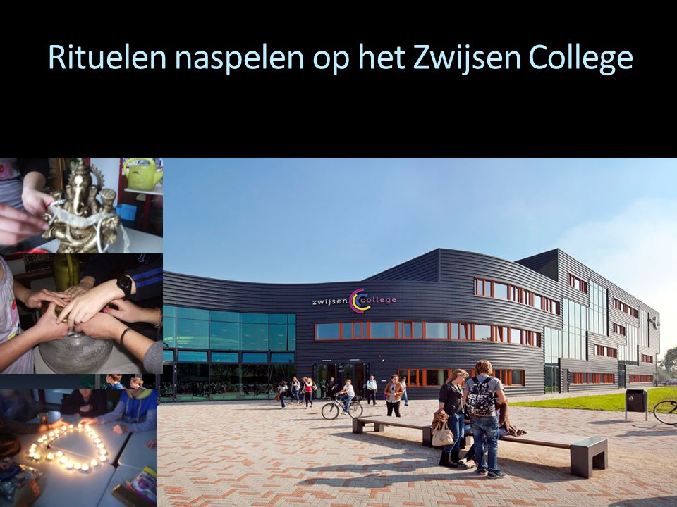 Rituelen naspelen op het Zwijsen College