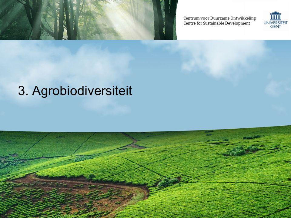 3. Agrobiodiversiteit