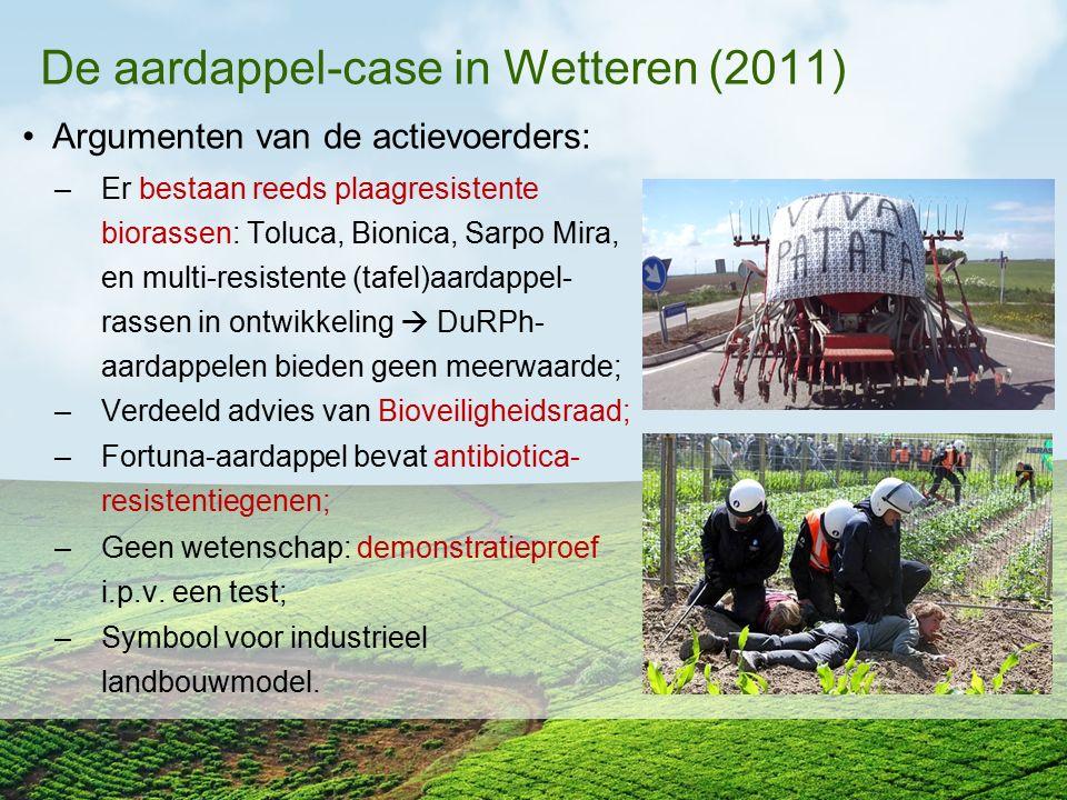 De aardappel-case in Wetteren (2011)