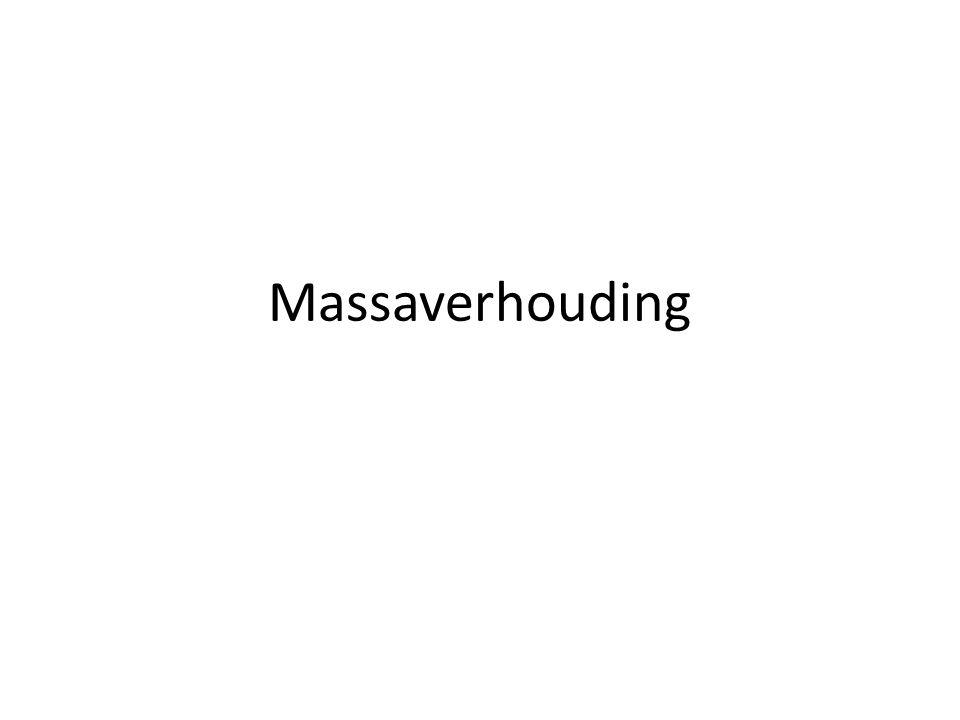 Massaverhouding