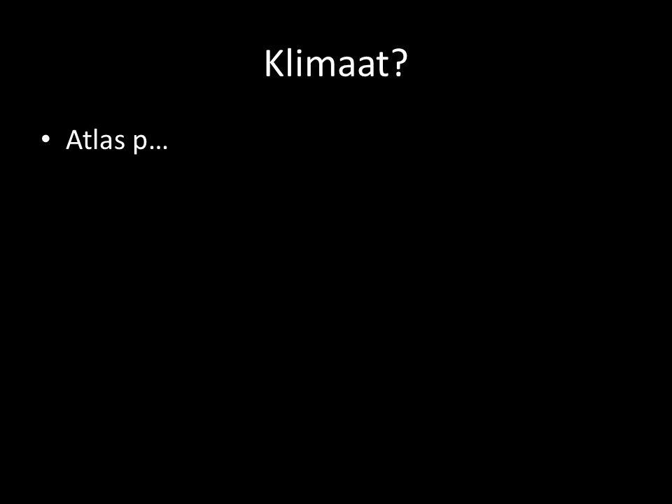 Klimaat Atlas p…
