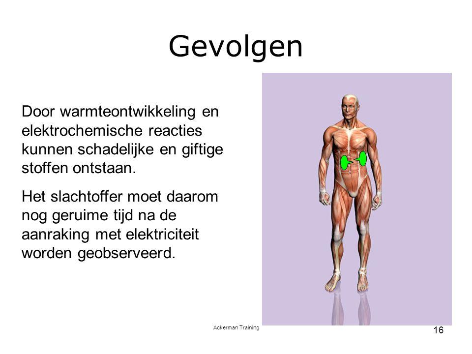 Gevolgen Door warmteontwikkeling en elektrochemische reacties kunnen schadelijke en giftige stoffen ontstaan.