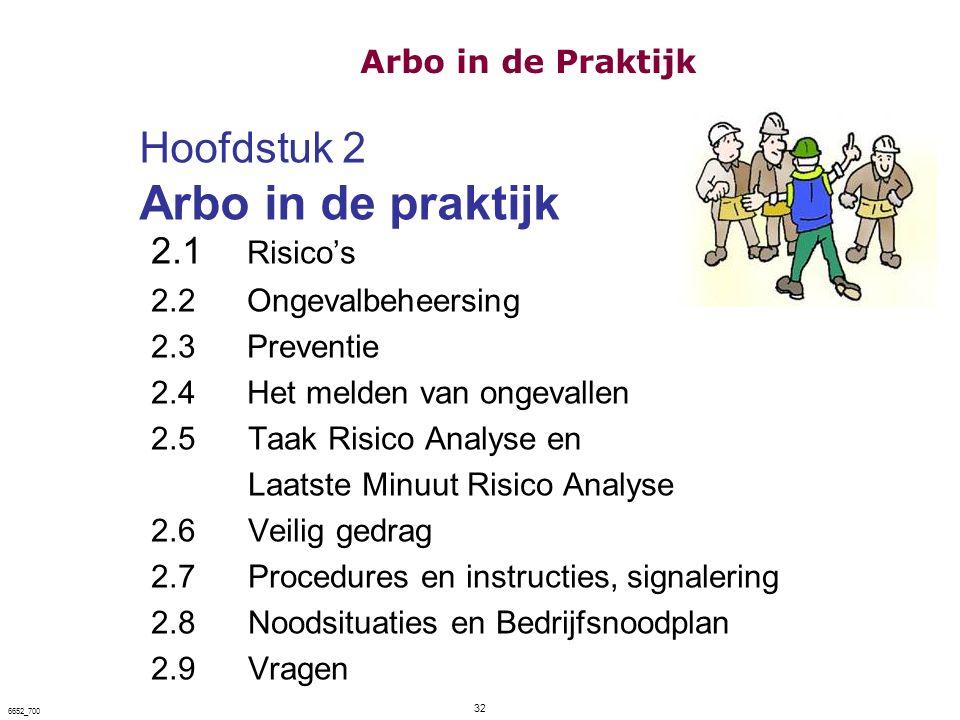 Hoofdstuk 2 Arbo in de praktijk